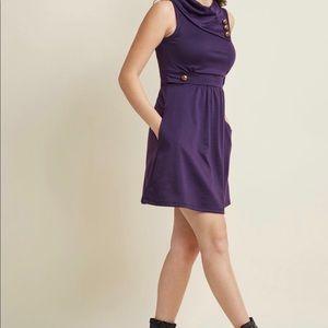 Modcloth Dresses - Coach tour a line  dress by ModCloth side pocket